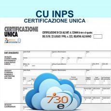 Cud INPS scarica on line CU scaricabile