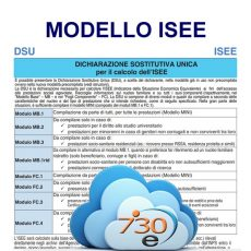 Elaborazione modello ISEE on line